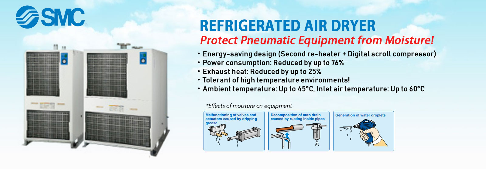 SMC Refrigated Air Dryer